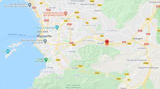 Allée des Sycomores, Marseille (Bouches-du-Rhônes). (CAPTURE ECRAN GOOGLE MAPS)