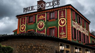 L'auberge du Pont-de-Collonges, restaurant de Paul Bocuse, le 20 janvier 2018 à Collonges-au-Mont-d'Or, près de Lyon. (JEFF PACHOUD / AFP)