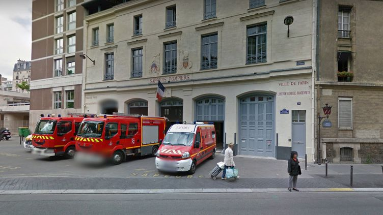Caserne Plaisance, à Paris. (GOOGLE STREET VIEW)