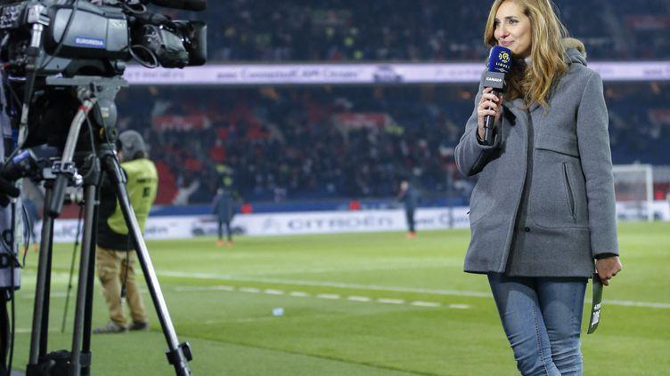 Un documentaire de Marie Portolano sur la place des femmes dans le journalisme sportif sera diffusé ce dimanche 21 mars sur Canal+  (STEPHANE ALLAMAN / STEPHANE ALLAMAN)