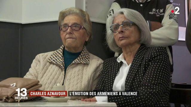 Valence : la communauté arménienne fait ses adieux à Charles Aznavour