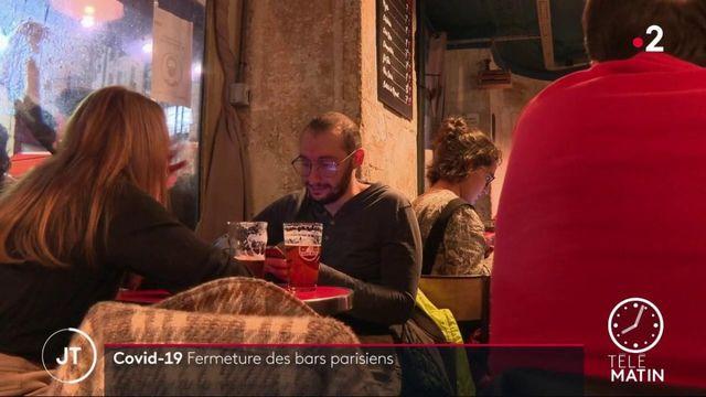 Covid-19 : les bars parisiens ont baissé le rideau