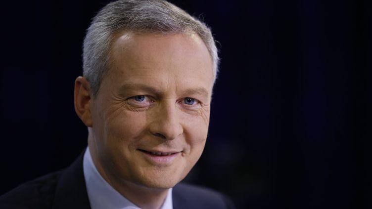 """Le député UMP de l'Eure Bruno Le Maire, le 29 juin 2014, invité de l'émission """"Tous Politiques"""", de France Inter, France 24, """"Le Parisien"""". (  MAXPPP)"""