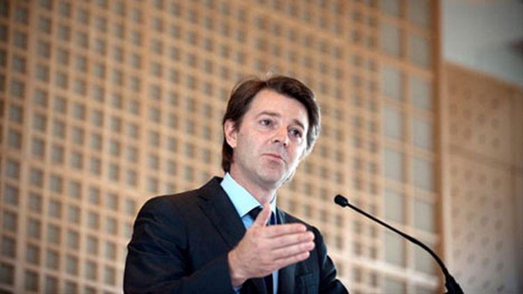 """François Baroin, ministre du Budget, et co-signataire de la tribune dans """"Le Figaro"""" (AFP)"""