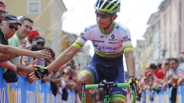 Le Colombien Esteban Chaves (Orica) (LUK BENIES / AFP)