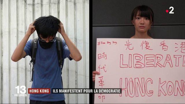 Hong Kong : les manifestations pour la démocratie ne faiblissent pas