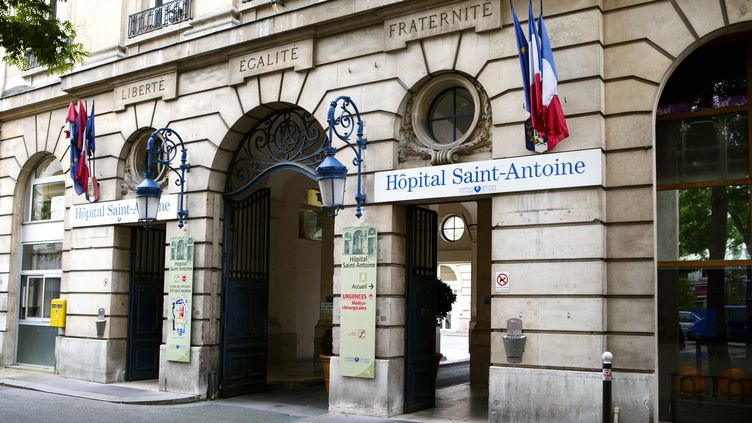 L'hôpital Saint-Antoine, à Paris. (IMAGE POINT FR / BSIP / AFP)