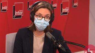 Amélie de Montchalin, la ministre de la Transformation et de la Fonction publique, le 31 mai 2021 sur France Inter. (FRANCEINTER / RADIO FRANCE)