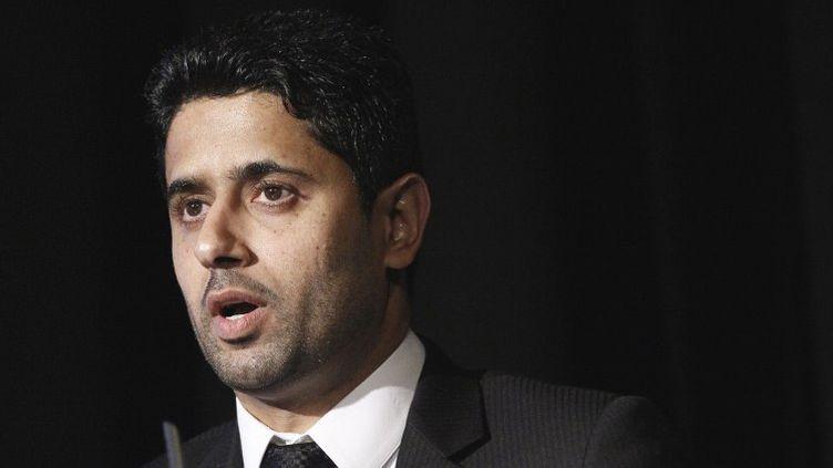 Nasser Al-Khelaifi.  (ALEXANDER KLEIN / AFP)