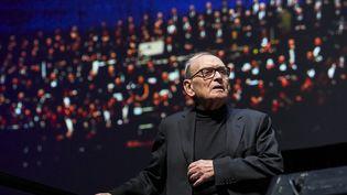 Le compositeur italien Ennio Morricone lors d'un concert à Berlin le 21 janvier 2019 (MARC VORWERK/SULUPRESS.DE / SULUPRESS.DE)
