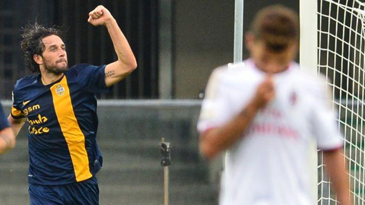 Luca Toni encore décisif (GIUSEPPE CACACE / AFP)