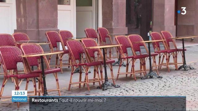 Restaurants : les restaurateurs pourront-ils rouvrir leurs terrasses à la mi-mai ?