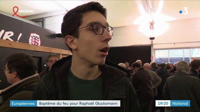 Européennes : baptême feu pour Raphaël Glucksmann et la gauche