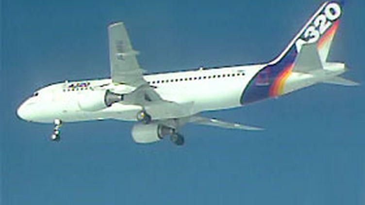 Un airbus A320.