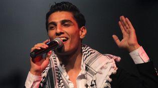 Mohammad Assaf en concert à Ramallah (Cisjordanie, 1er juillet)  (Abbas Momani / AFP)