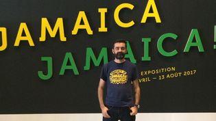 """Sébastien Carayol, commissaire de l'exposition """"Jamaica, Jamaica !"""" à la Philharmonie de Paris du 4 avril au 13 août 2017.  (Droits réservés)"""