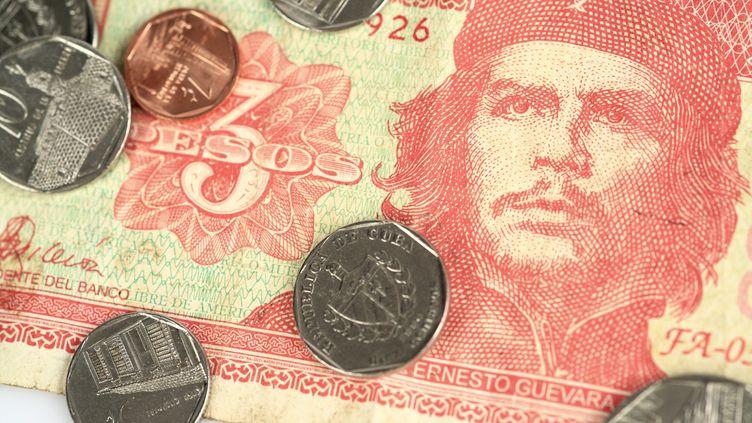 Monnaie cubaine. (PHILIPPE TURPIN / MAXPPP)