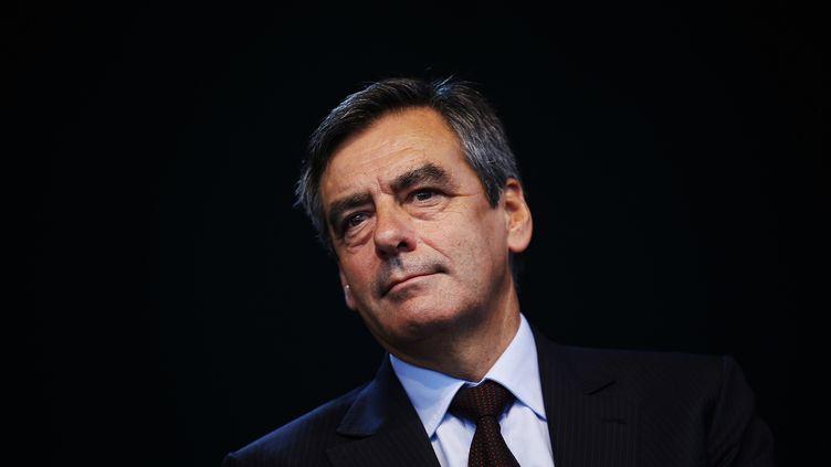 François Fillon, lors d'un meeting à Nice, le 13 septembre 2013. (ERIC GAILLARD / REUTERS)