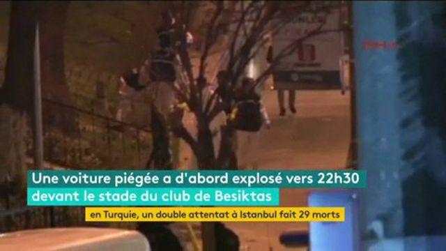 Turquie : double attentat à Istanbul