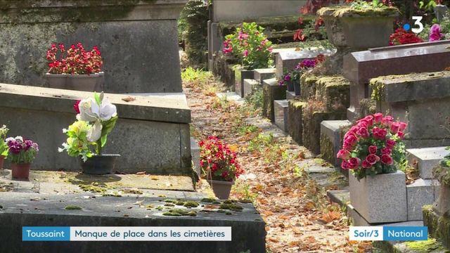 Toussaint : manque de place dans les cimetières de Paris