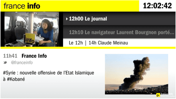 (Emission spéciale France Info dans Paris © Radiofrance)
