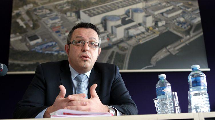 Thierry Rosso,directeur de la centrale nucléaire de Fessenheim jusqu'au 1er avril 2015 (THIERRY GACHON / MAXPPP)