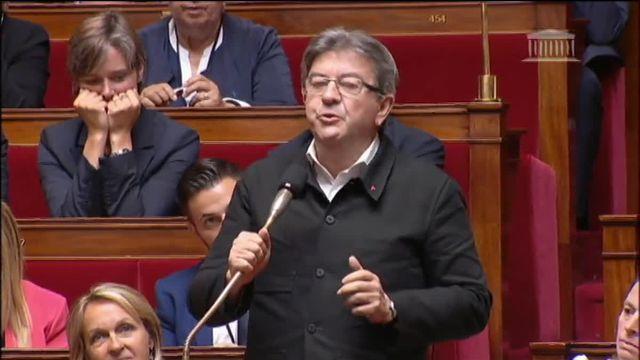 Assemblée  Mélenchon demande une réunion des présidents des groupes