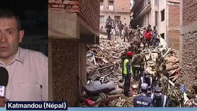 Au Népal, les recherches de survivants prennent fin