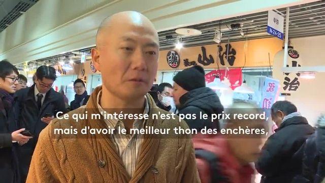 Tokyo : un thon adjugé 268 000 euros au marché de Tsukiji