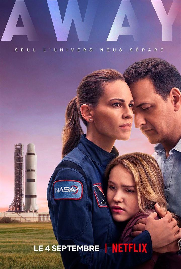 """""""Away"""" avec Hilary Swank, est disponible sur Netflix le 4 septembre. (NETFLIX)"""