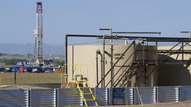 Les Etats-Unis autorisent l'exploration des gaz de schiste, comme icià Weld County, dans l'est du Colorado, le 30 mai 2012. (GARY C. CASKEY / MAXPPP)