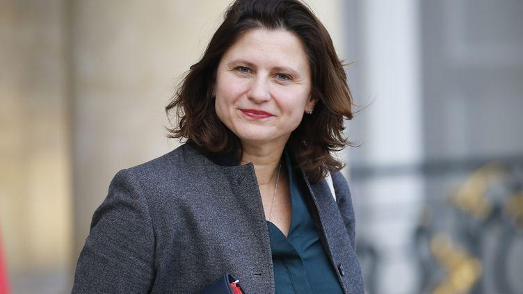 Roxana Maracineanu, la ministre des Sports, en décembre 2019. (S?BASTIEN MUYLAERT / MAXPPP)