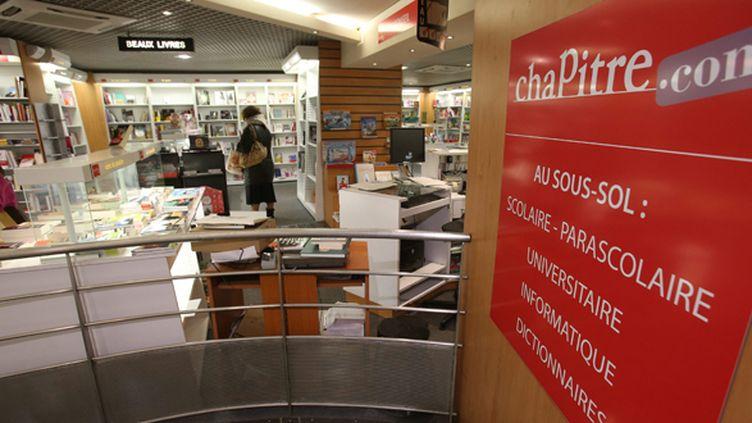 La librairie Chapitre de Belfort  (PHOTOPQR/L'EST REPUBLICAIN)
