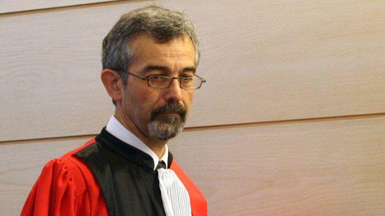 (Le président du  tribunal, Denis Roucou, n'était pas en mesure du dire lundi matin si Alain Thurin était mort après sa tentative de suicide © Maxppp)