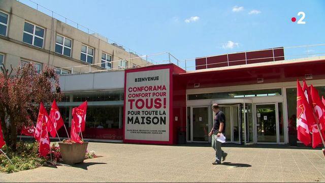 Conforama : le directeur général écarté, les syndicats inquiets