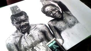 Dessin d'Okeke Chukwuka (CATERS/SIPA)