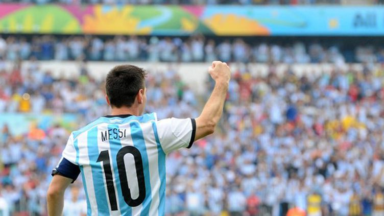 Lionel Messi (Argentine) (JEWEL SAMAD / AFP)