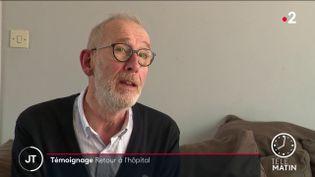 Alain Rime, médecin réanimateur. (France 2)