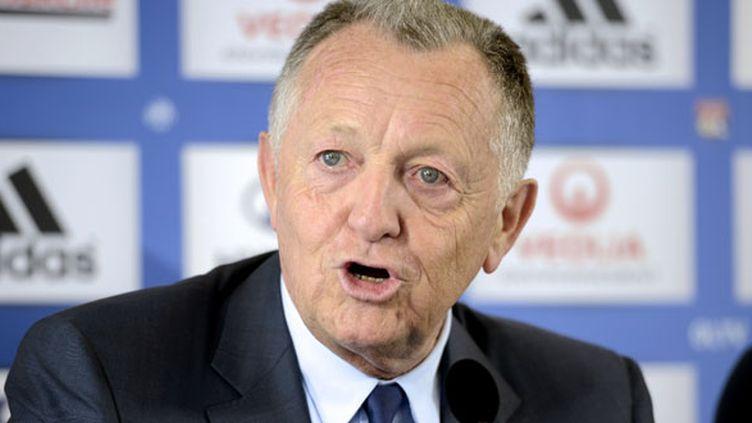 Le président de l'OL, Jean-Michel Aulas