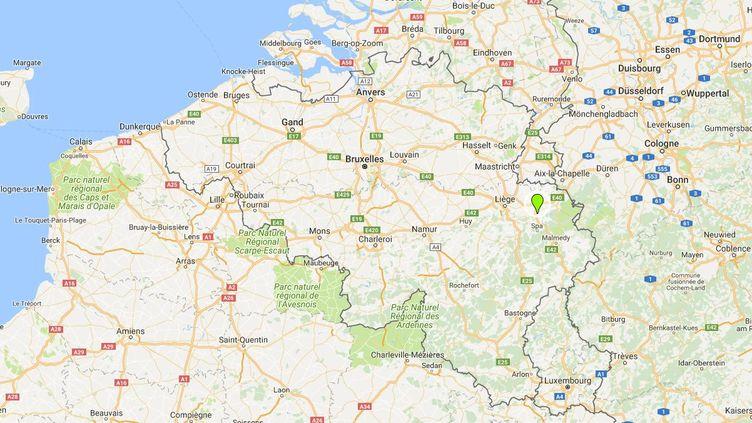La ville de Verviers, en Belgique/ (GOOGLE MAPS)