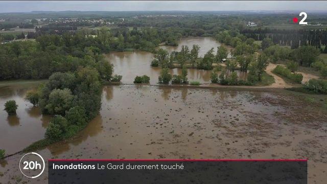Gard : au lendemain des inondations, des dégâts toujours visibles