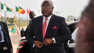 Le président de la Sierra Leone,Ernest Bai Koroma, le 28 mars 2014, à Yamoussoukro (Côte-d'Ivoire). (ISSOUF SANOGO / AFP)
