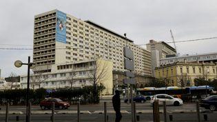 Photo d'illustration de l'hôpital de la Timone, à Marseille. (MAXPPP)