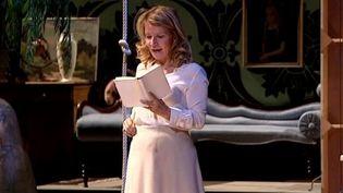 """Nicole Garcia dans """"La Mouette"""" de Tchekhov mise en scène par Frédéric Bélier-Garcia  (France3/Culturebox)"""