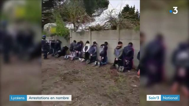 Lycéens : arrestations en nombre