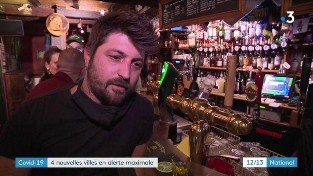 Nouvelles villes en alerte maximale : les gérants des bars accusent le coup