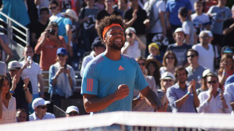 Première finale sur terre battue pour Jo-Wilfried Tsonga (CITIZENSIDE/NICOLAS LHOTEL / CITIZENSIDE)