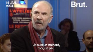 Le comédien Jean-Pierre Marielle nous a quittés le 24 avril. Interrogé par Bernard Pivot en 1994, il se présente comme un homme fainéant et distrait. (BRUT)