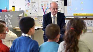 Le ministre de l'Éducation nationale, Jean-Michel Blanquer, le 24 novembre 2017, à Toulouse (Haute-Garonne). (REMY GABALDA / AFP)