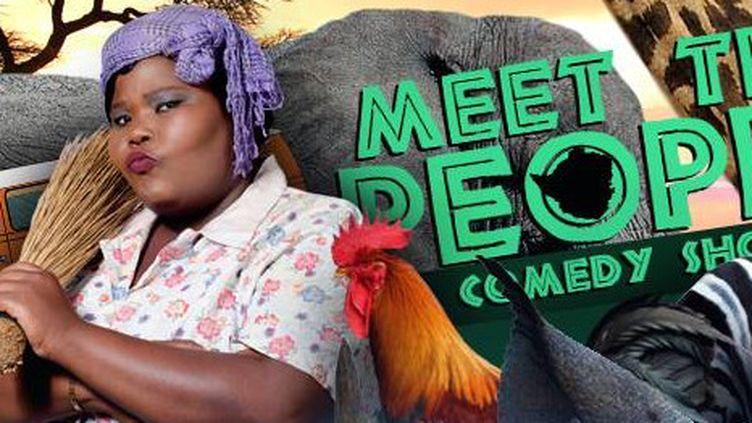 Une affiche de l'humoriste zimbabwéenne Samantha Kureya, connue sous le nom de Gonyeti (Busstop TV)